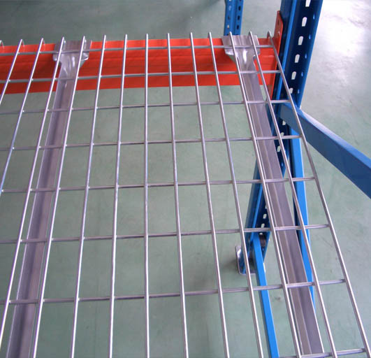 Factory Heavy Duty Wire Mesh Decks Storage Racking Shelves