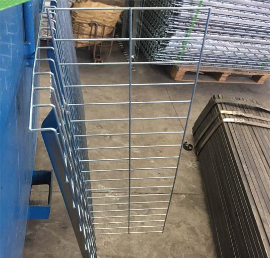 Wire Decking Divider