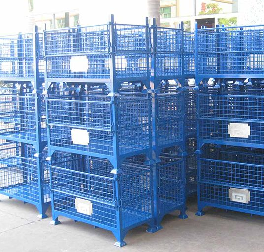 Steel Mesh Container
