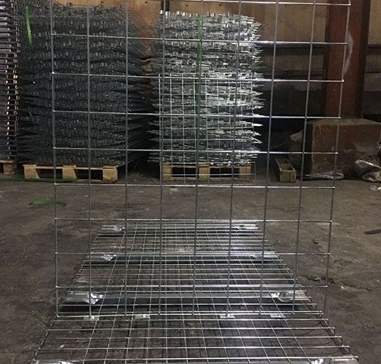 Steel Partition Rack