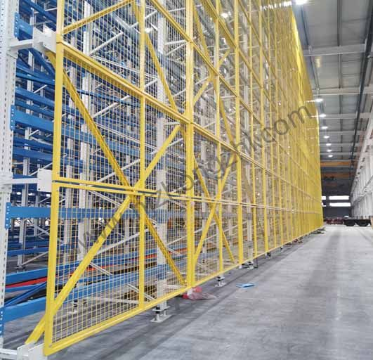 High Strength Heavy Duty Racking Protective Steel Wire Mesh Partition