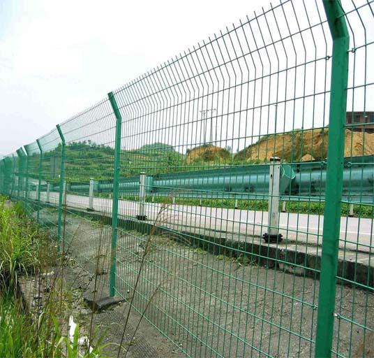 Railway Highway Metal Wire Fence