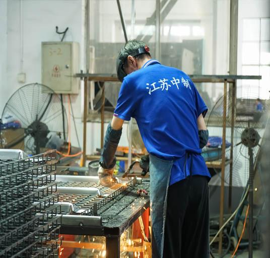 European Style Pallet Rack Wire Mesh Decking Steel