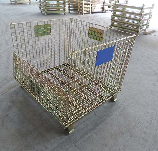 European Type Wire Container