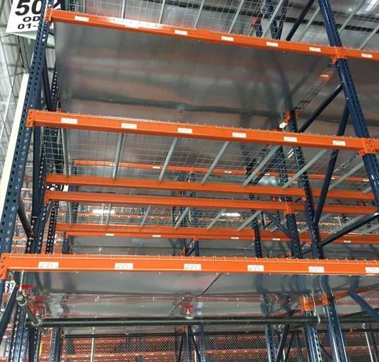 Racking Systems Storage Metal Grid Wire Decking