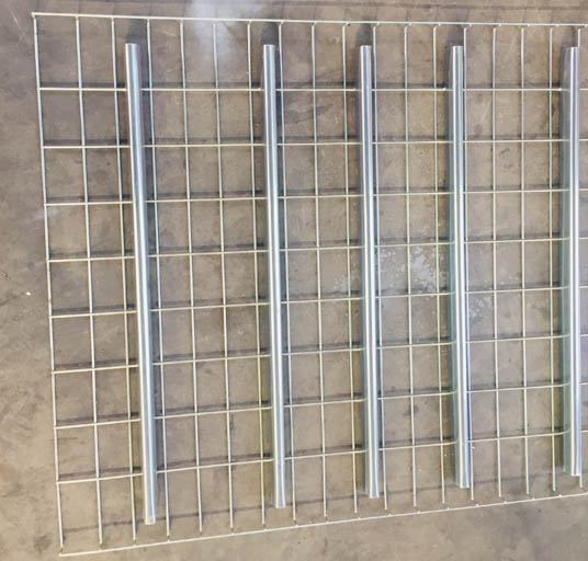 Warehouse Racking Systems Storage Metal Grid Wire Mesh Deck