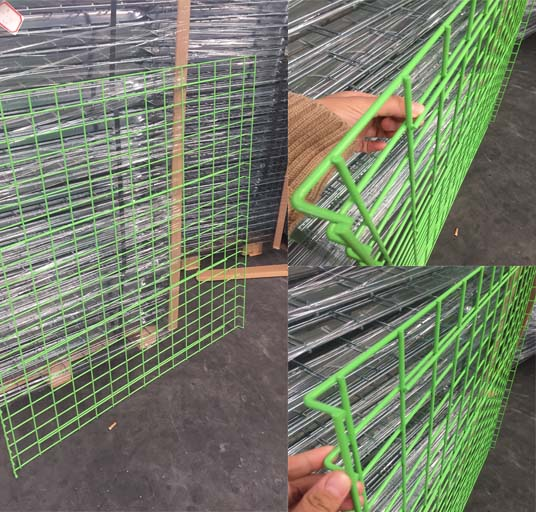 PVC Coated Wire Deck