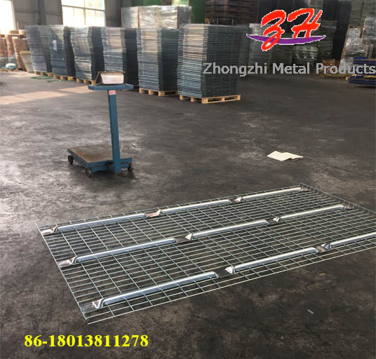 Pallet Rack Spare Parts Capacity Heavy Duty Deck