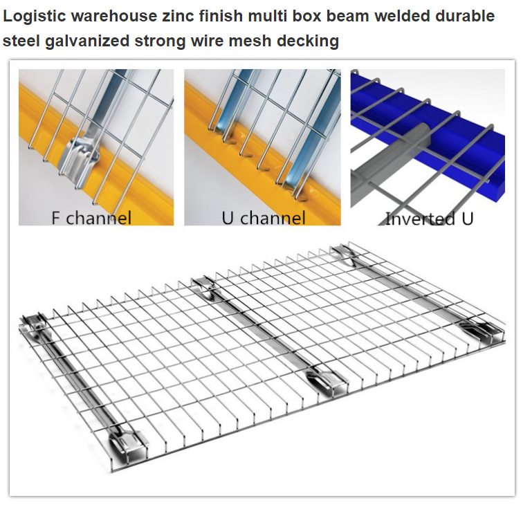 Channel Wire Mesh Deck